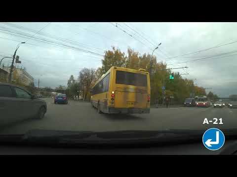 По маршруту автобуса № 11 (Ижевск)