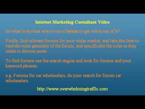 Internet Marketing Consultant -Secrets Revealed
