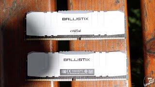 Ballistix Gaming DDR4 CL16 3600MHz 32GB Review