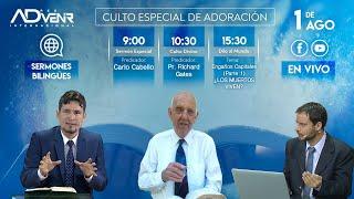 Sábado especial 01/08/2020 - Carlo Cabello y Pr. Richard Gates