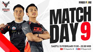 [2021] Free Fire Master League Season III Divisi 1 - Match Day 9