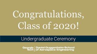 2020 Virtual AE Recogฑition Ceremony - Undergraduate
