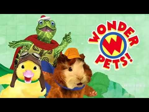 The Wonder Pets Theme Song Instrumental Slow Motion Youtube