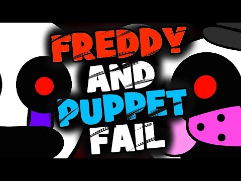 Freddy and Puppet Fail! - (Minecraft FNAF Roleplay)