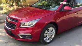 Review Xe Chevrolet Cruze 2018 màu đỏ. Đại Lý Xe Chevrolet Tây Ninh Bình Dương Bình Chánh Gò Vấp Q5