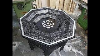 اخر واحدث تصاميم  خشب الصالون المغربي 💕 لصاحبات الذوق الرفيعsalon marocain 2018