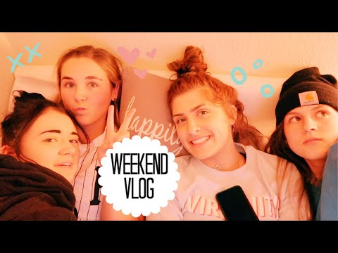 weekend vlog with my best friends