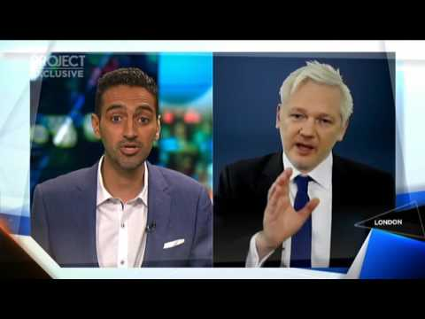 Julian Assange Interview on TheProject 24 Jan 2017