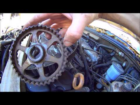 HONDA ACCORD TIMING BELT REPLACEMENT 94 - 97