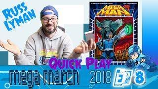 MegaMan 9 Nintendo Wiiware play through   Russ Lyman Quick Play EP8   MegaMarch2018