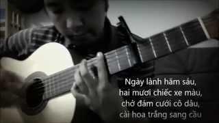 CAN NHA MAU TIM (Che Linh - Huong Lan) - [Guitar Solo] [K'K]