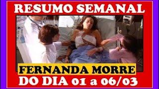 Mulheres Apaixonadas RESUMO SEMANAL 01/03 a 06/03/21