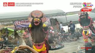 Gambar cover Tari RAMPOKAN!! Singo Barong Jaranan   Sentono Putro Live Dsn Kayendoyong Pelemahan kediri