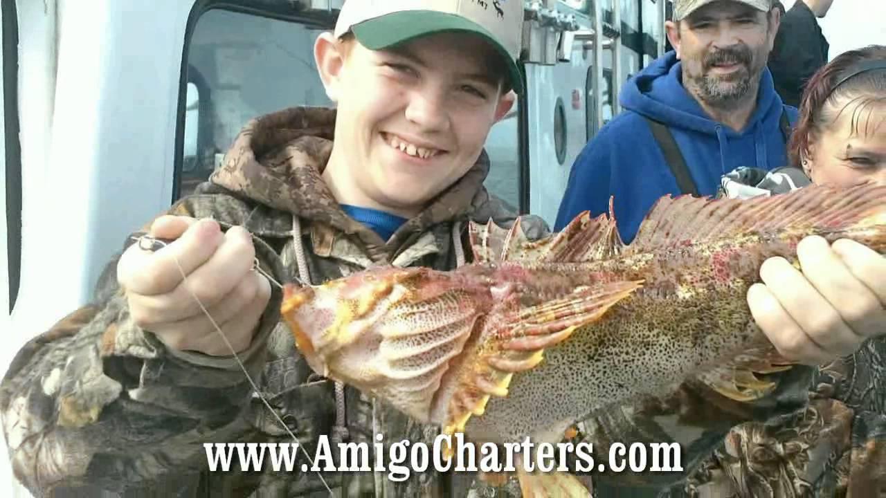 Depoe bay fishing youtube for Depoe bay fishing report