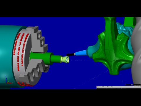 MODELING RECYCLE BIN BY CATIA V5R20 AND MANUFACTURING MASTERCAM 5 AXIS