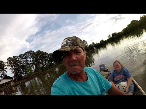 Crappie Fishing With The Wife On Weiss Lake