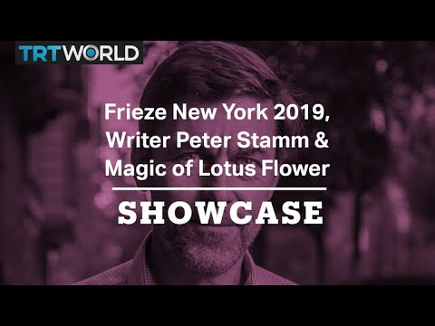 Magic Of Lotus Flower Frieze New York 2019 Peter Stamm Full