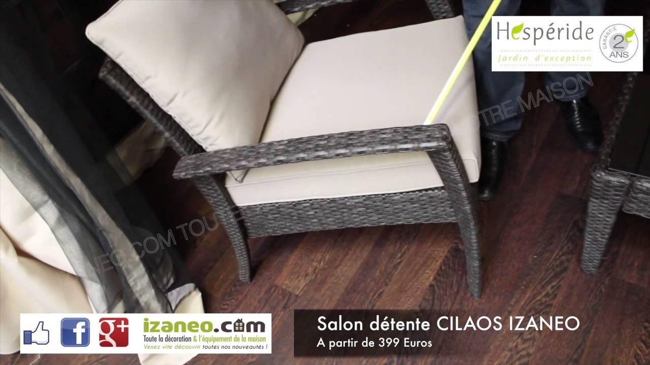 Salon détente CILAOS IZANEO - YouTube