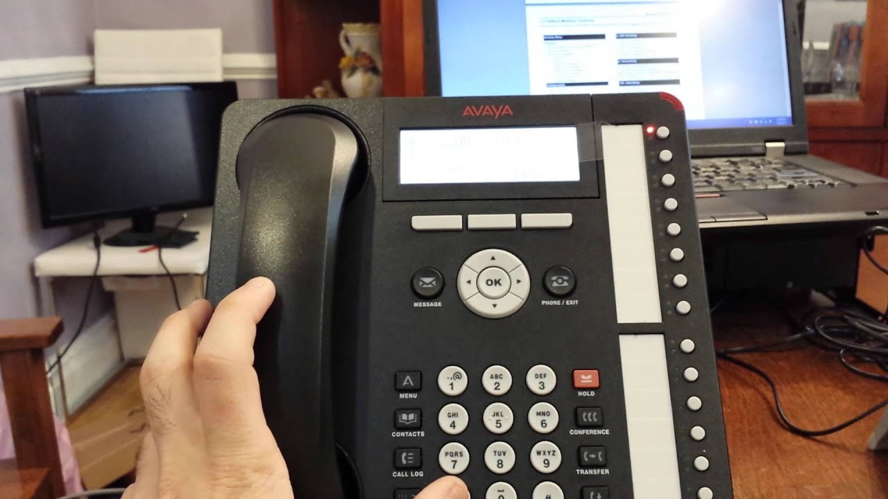 Avaya Ip Office Record Your Greeting Using Non Visual Embedded