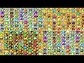 Plants vs Zombies Every Plant Power Up Compilation vs Newspaper, Octo, Camel, Pharaoh  Zombies