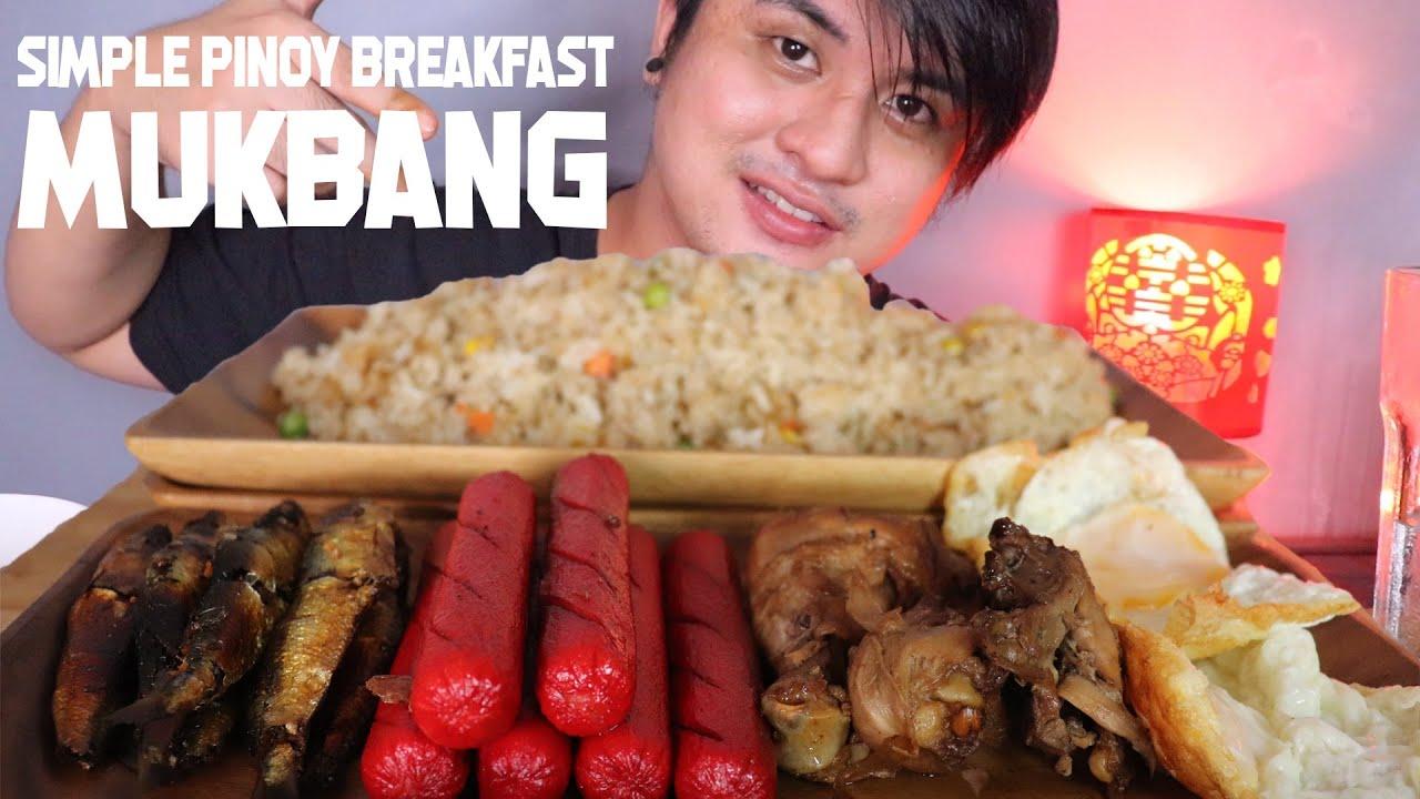 SIMPLE FILIPINO BREAKFAST MUKBANG