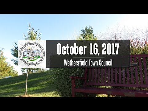 October 16th, 2017 Town Council