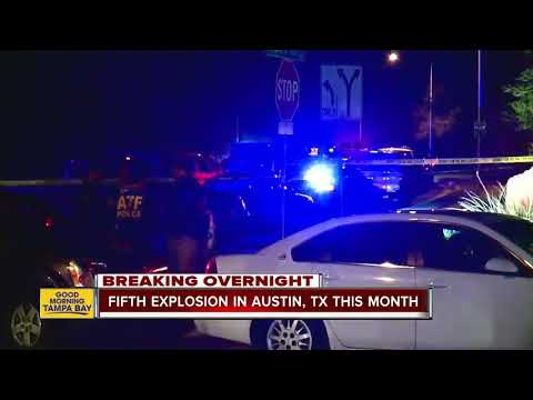 Another explosion injures two in Texas capital; cause unclear