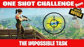DID I REALLY DO THAT??? Fortnite ONE SHOT!!!