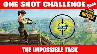 ¿Realmente lo hice??? Fortnite UN SHOT!!!
