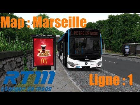 Map: Marseille Ligne 1 /////// Bus: Citaro C2 [OMSI2]