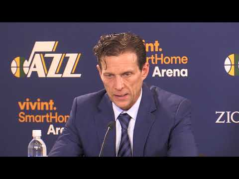 Jazz Head Coach Quin Snyder on Rubio