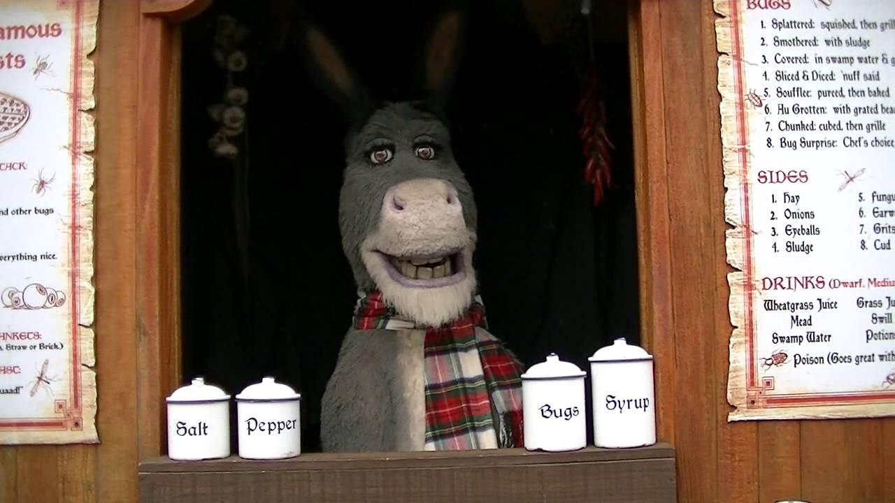 Donkey, Universal Studios Hollywood - YouTube