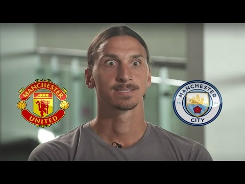 Zlatan Ibrahimovic interview before his first Manchester derby!