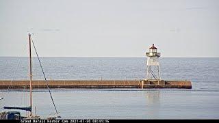 Preview of stream Grand Marais, Minnesota Harbor Cam Live Stream