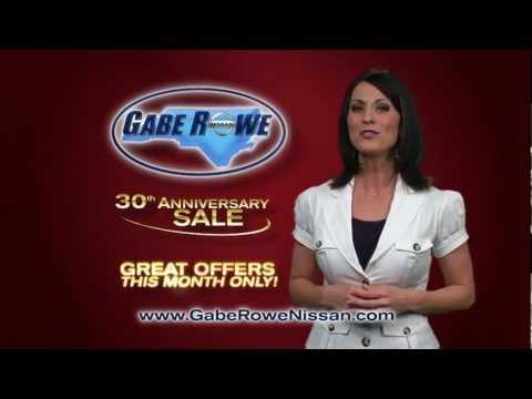 Gabe Rowe Nissan - 30th Anniversary