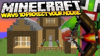 Top 5 Ways To Protect Your House (Minecraft)