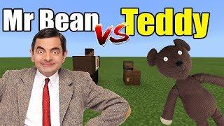 Mr Bean vs Teddy | Minecraft PE