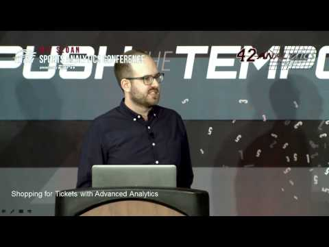 SSAC15: CA - Shopping for Tickets with Advanced Analytics