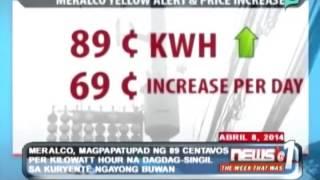 MERALCO, magpapatupad ng 89 centavos per kilowatt hour na dagdag singil sa kuryente ngayong buwan