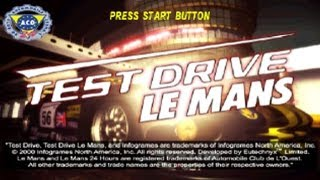 Gameplay - Test Drive Le Mans (PS1) - Emulador ePSXe 1.7 - (HD 720p)