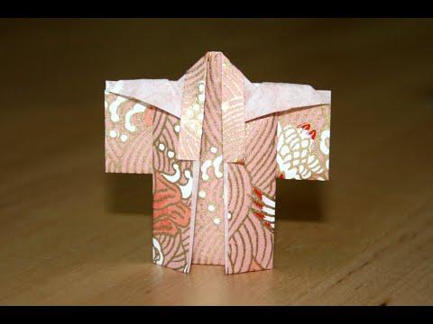 tutoriel origami kimono