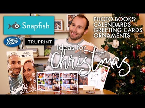 Snapfish/Boots/Truprint - Photo Books, Calendars, Cards & Ornaments Review - Ideas For Christmas