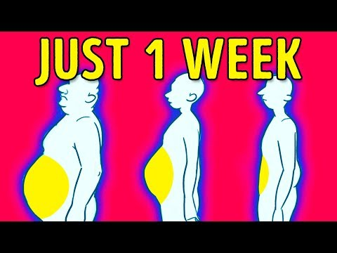 4-steps-to-lose-belly-fat-in-1-week