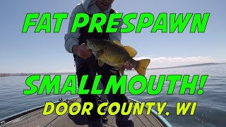 Sturgeon Bay Door County Smallmouth Bass Fishing - Sister Bay, Wisconsin