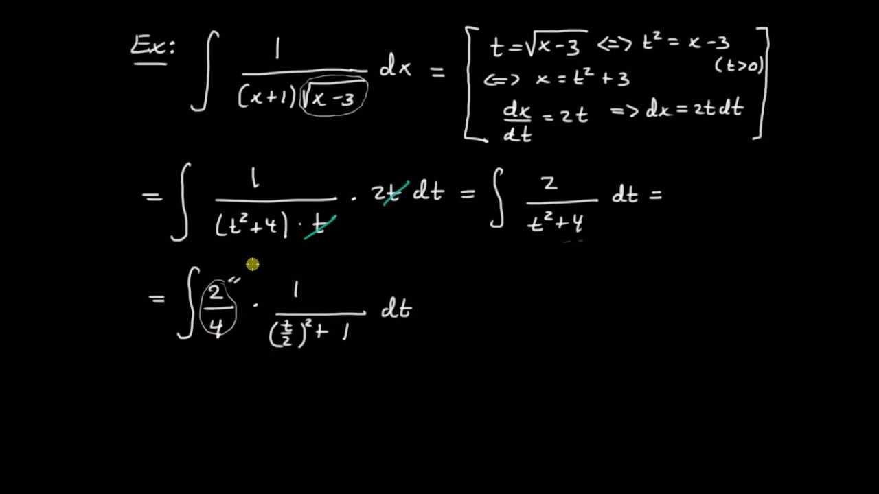 Primitiva funktioner del 13 - primitiv till rotuttryck av grad ett