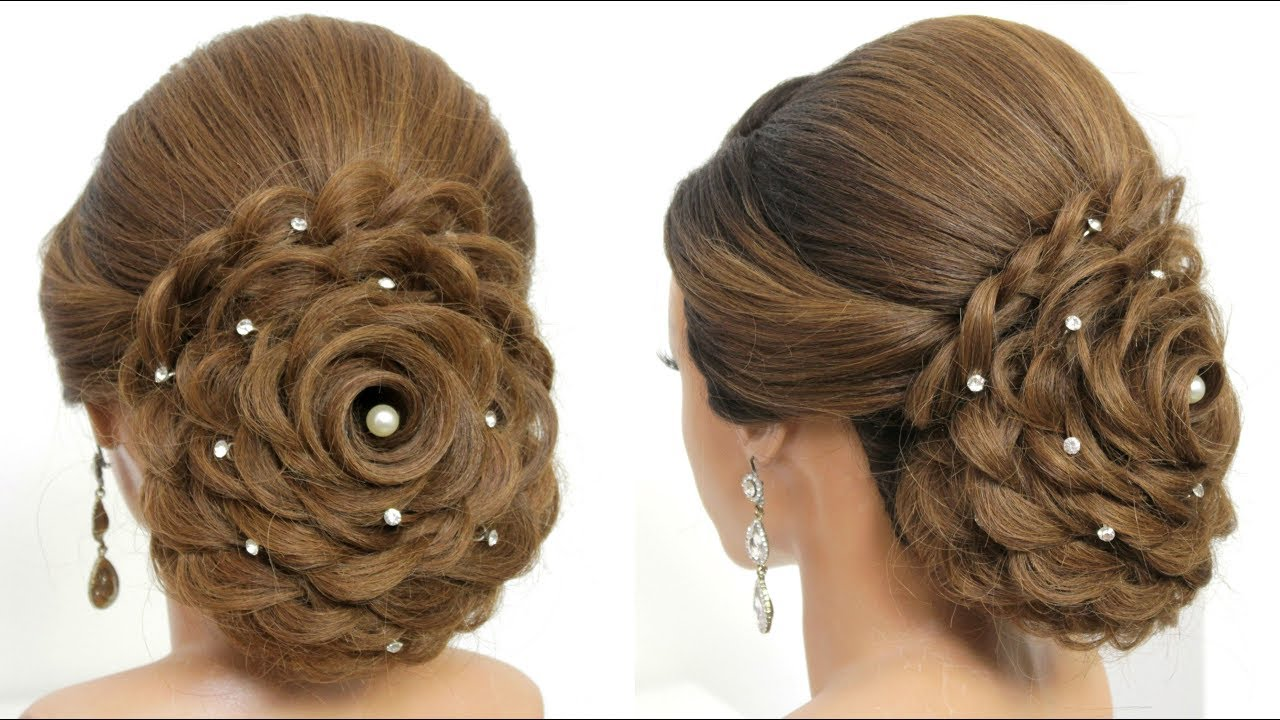 Bridal Updo Tutorial Wedding Prom Hairstyles For Long Hair
