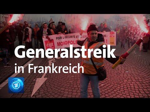Protest gegen Rentenreform:
