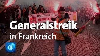 Protest gegen Rentenreform: Generalstreik in Frankreich