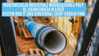 Renowacja magistrali wodociągowej w Łodzi za pomocą krakingu – rury TT ZMU DIREXIONAL