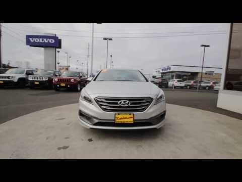 2016 Hyundai Sonata Sport   Symphony Silver   GH362030   Skagit County   Mt Vernon